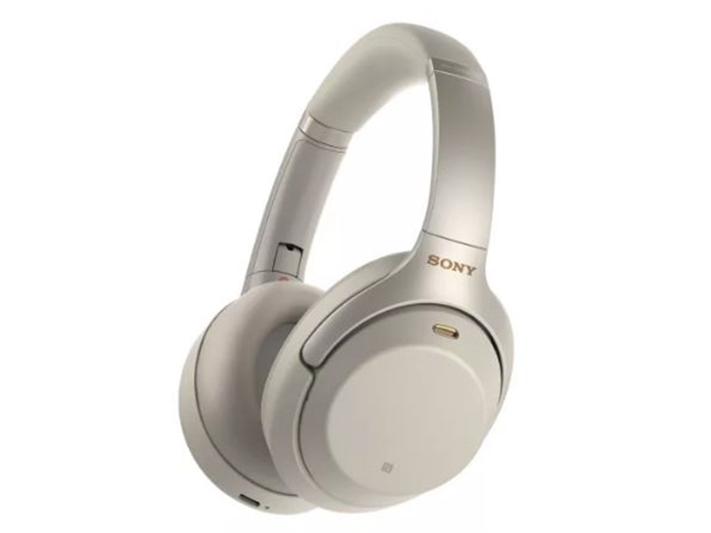 Sony WH1000XM3S Wireless Noise Cancelling Overhead Headphones (Silver)