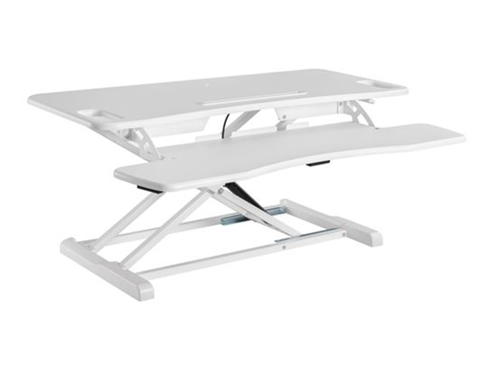 BRATECK Gas Spring Sit-Stand (White)