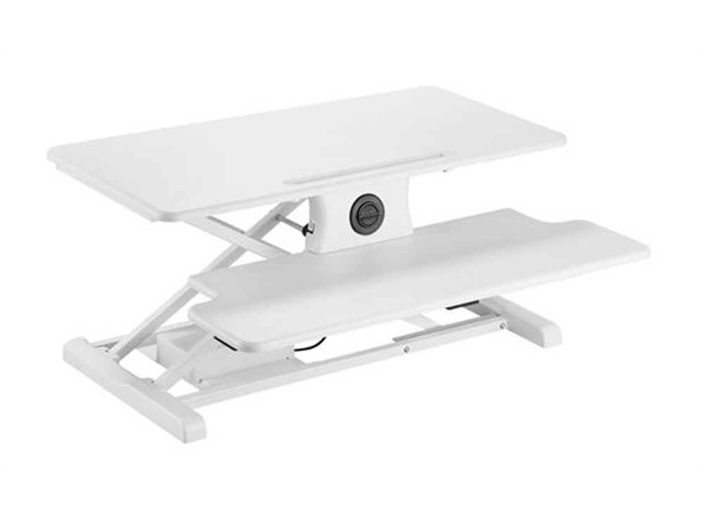 BRATECK Electric Sit-Stand (White)
