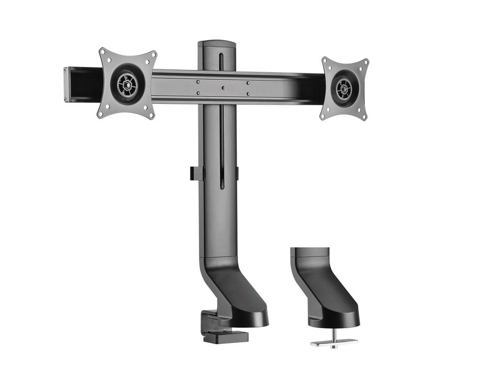 "BRATECK 17-27"" Dual LCD Desk Mount"