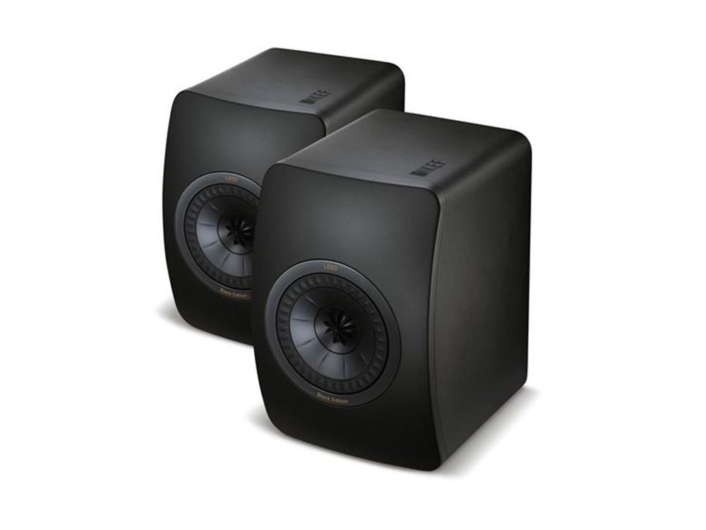 KEF LS50 Black Edition Innovative Studio Monitor Speakers