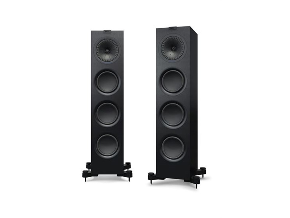 KEF Q750 Floor Standing Speaker (Pair, Black)