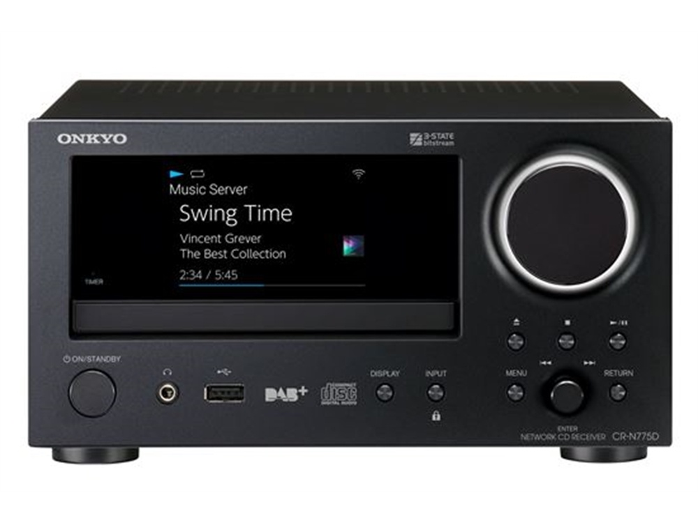 ONKYO CRN775D Network CD Receiver (Black)