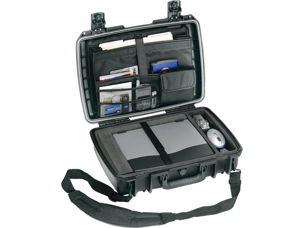 Pelican iM2370 Storm Case Deluxe with Computer Tray (Black)