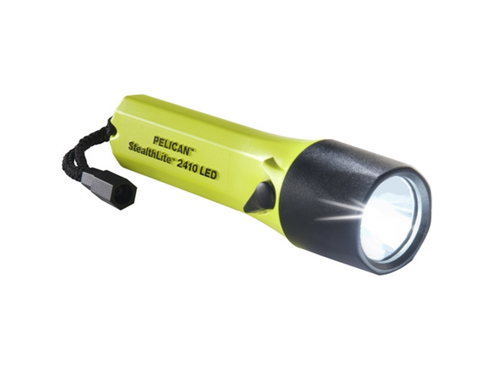Pelican 2410 StealthLite Flashlight (Yellow)