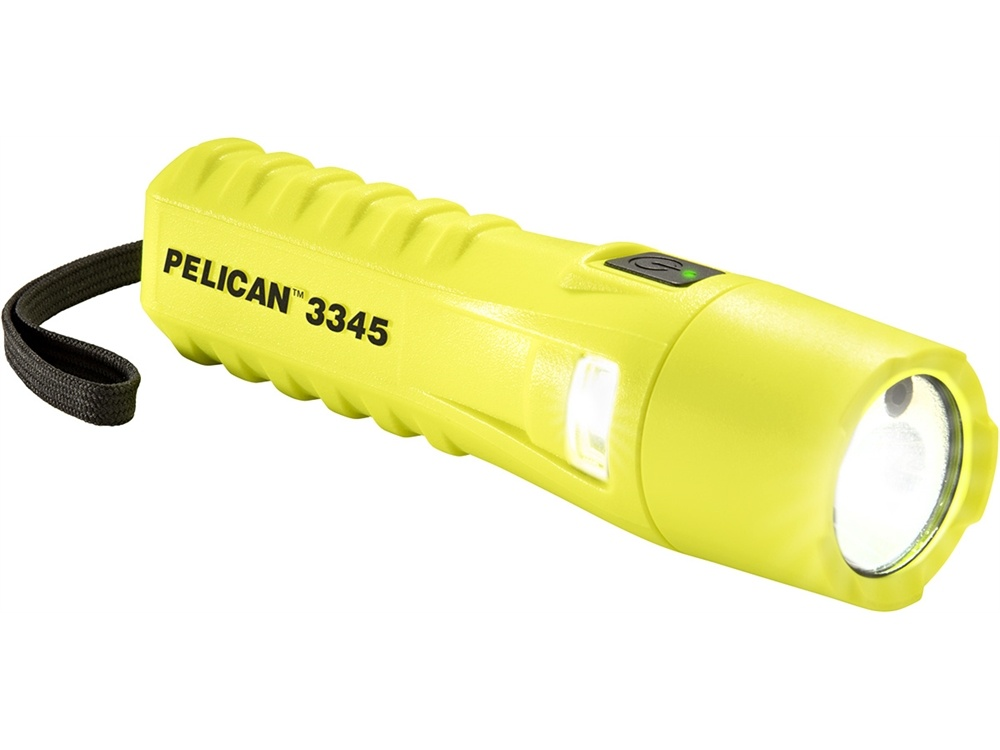 Pelican 3345 LED Flashlight with Variable Light Output (Yellow)