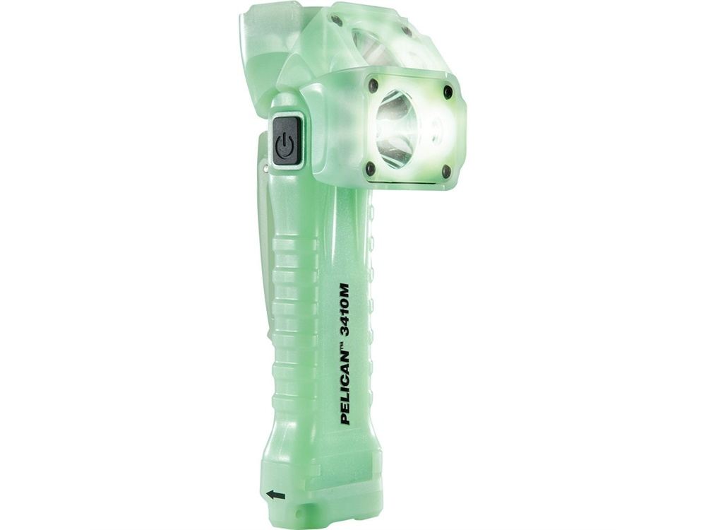 Pelican 3410M Right-Angle LED Flashlight with Magnet Clip
