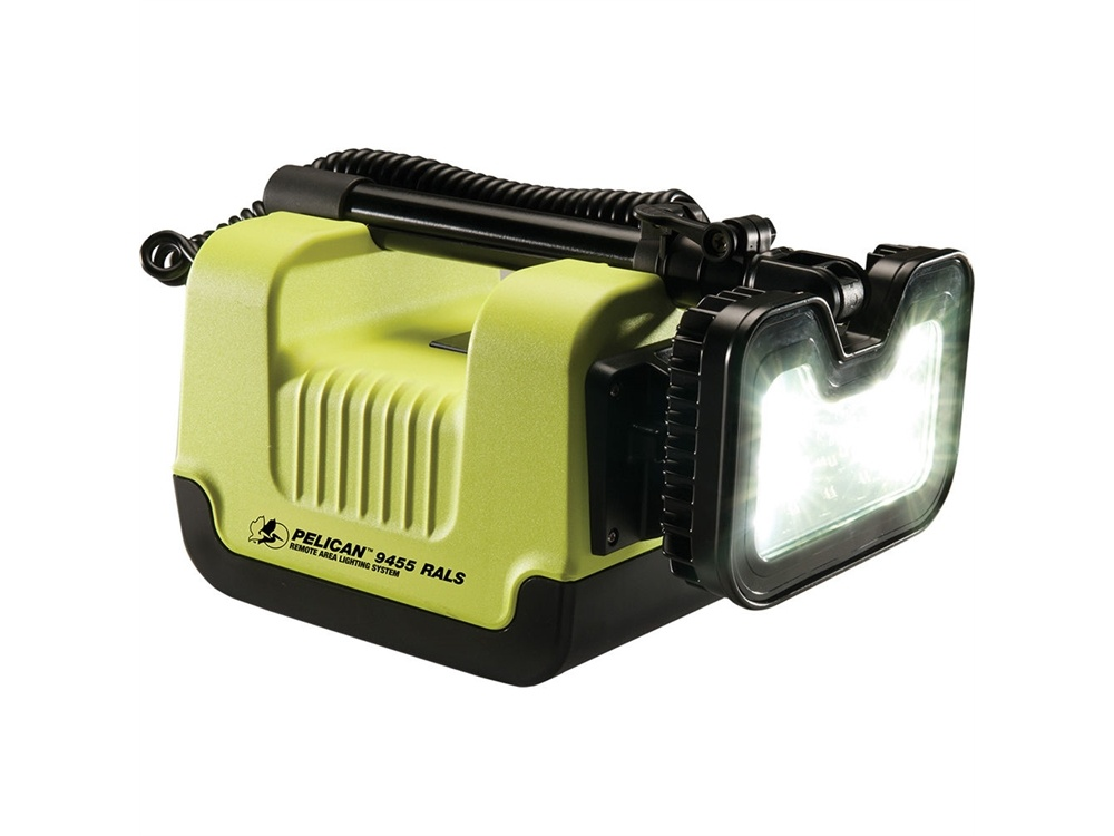 Pelican 9455 Remote Area Lighting System (Yellow)