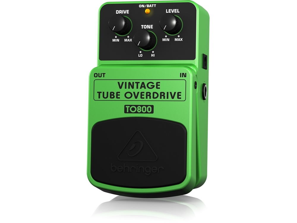 Behringer TO800 Vintage Tube Overdrive Effects Pedal