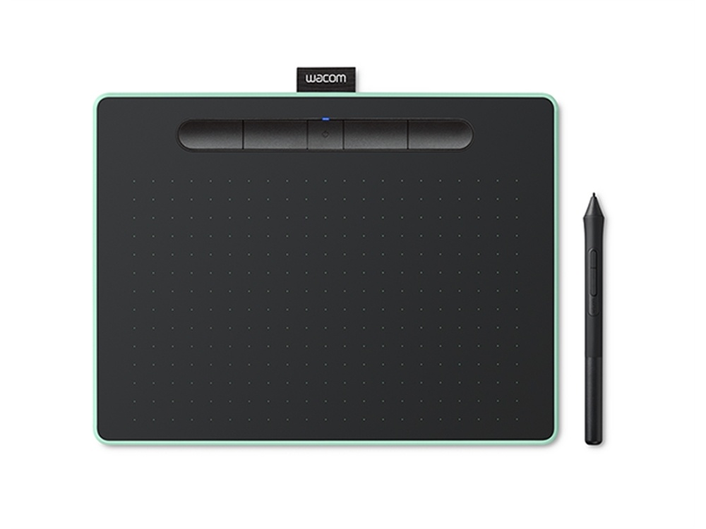 WACOM Intuos Bluetooth Creative Pen Tablet (Medium, Pistachio)