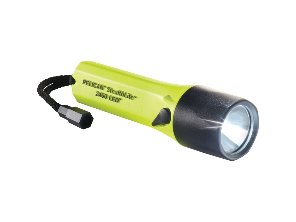 Pelican 2460 StealthLite Recoil Flashlight (Yellow)