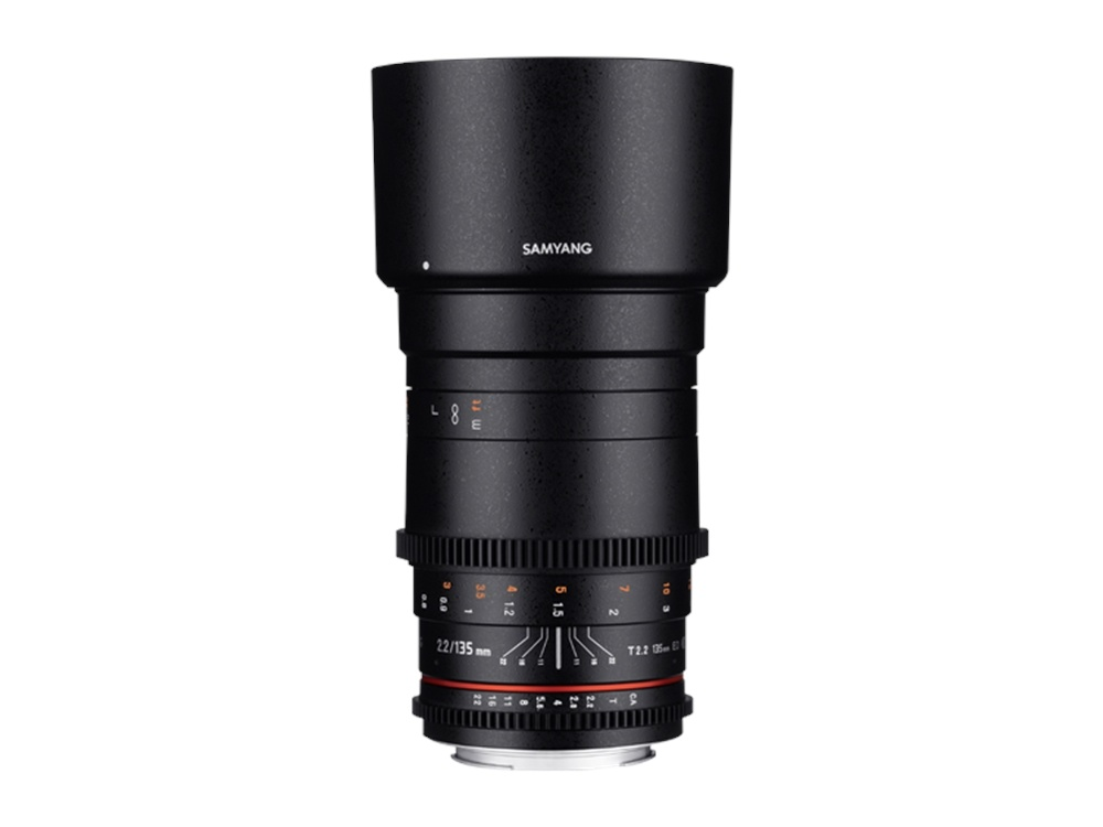 Samyang 135mm T2.2 VDSLR ED UMC for Canon