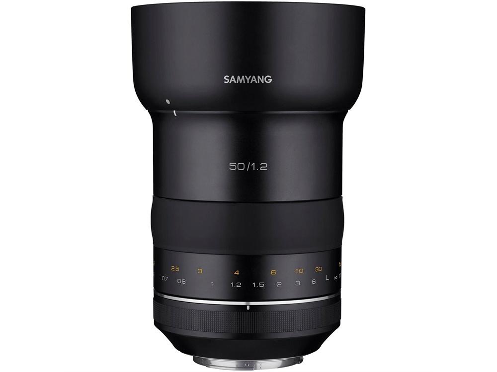 Samyang 50MM F1.2 XP Canon EF Lens