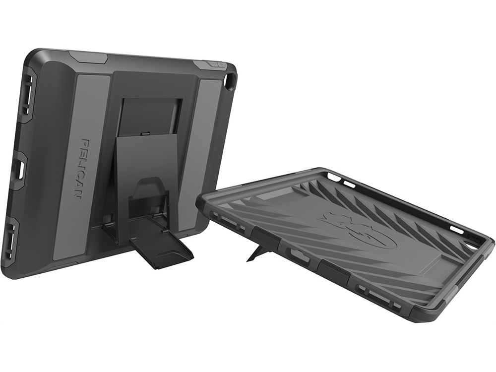 Pelican C21030 Voyager Case for iPad Air 2 / Pro 9.7 (Black and Gray)