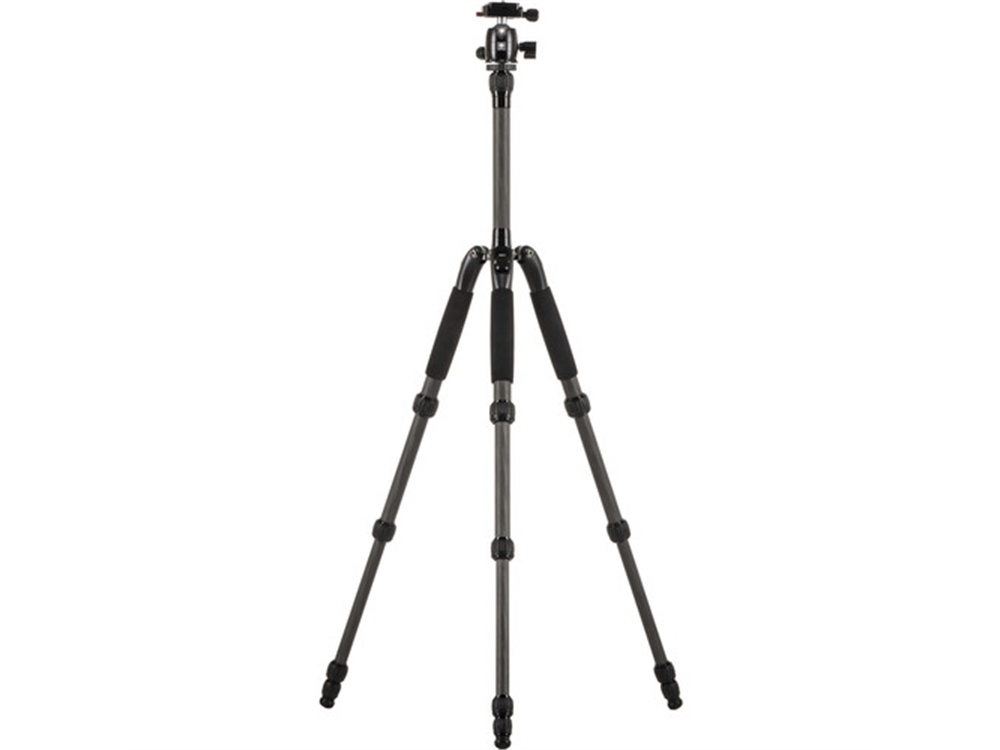 Sirui T-025SK Carbon Tripod With B-00K Ball Head (Black)