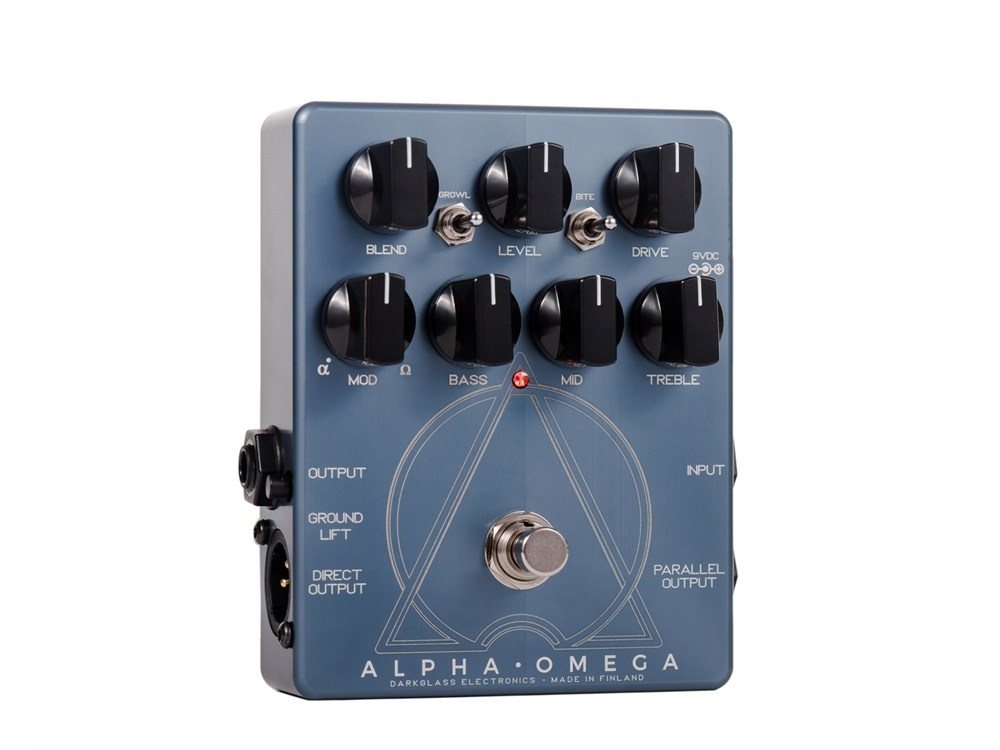Darkglass Electronics Alpha Omega Dual Bass Preamp/OD Pedal
