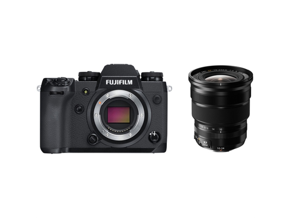 Fujifilm X-H1 Mirrorless Digital Camera with XF 10-24mm f/4 R OIS Lens