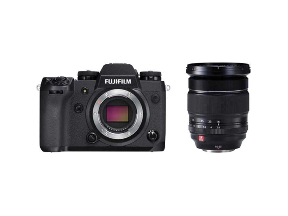 Fujifilm X-H1 Mirrorless Digital Camera with XF 16-55mm f/2.8 R LM WR Lens