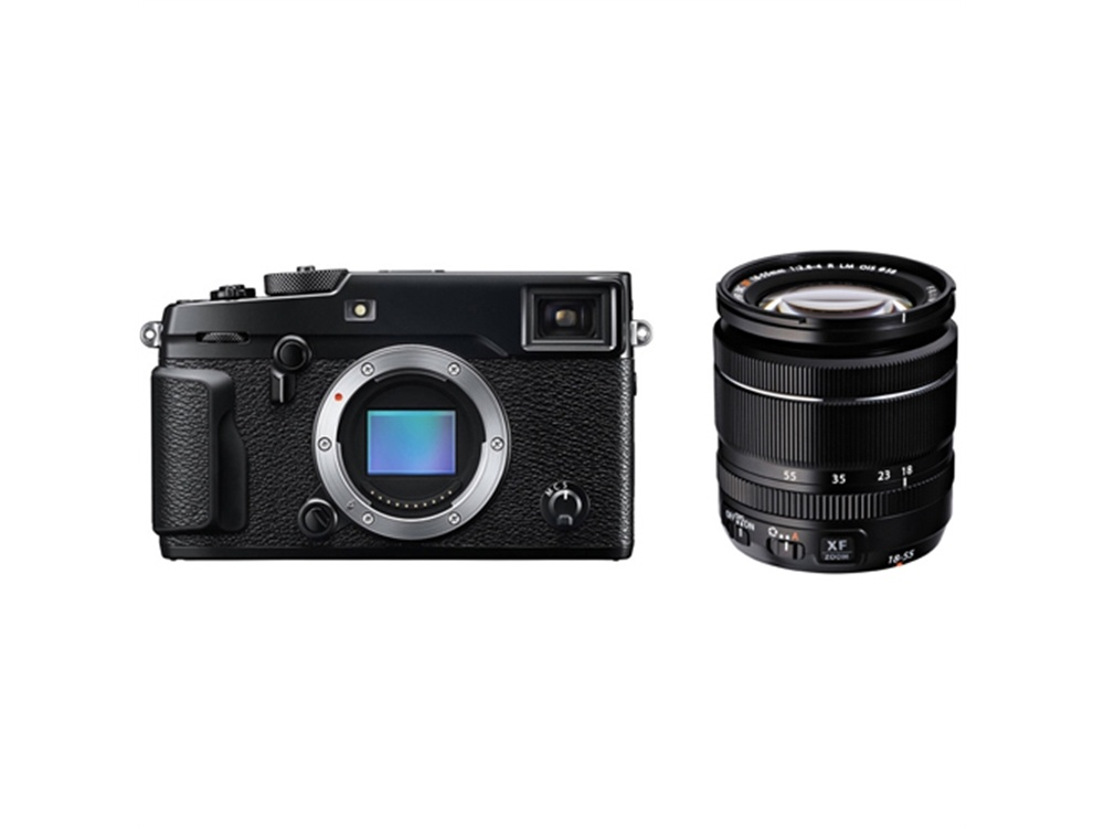 Fujifilm X-Pro2 Mirrorless Digital Camera with XF 18-55mm f/2.8-4 R LM OIS Zoom Lens