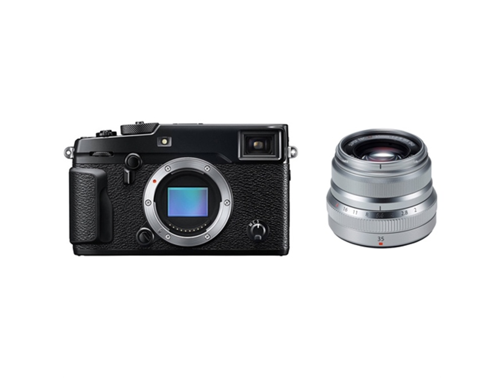 Fujifilm X-Pro2 Mirrorless Digital Camera with XF 35mm f/2 R WR Lens (Silver)