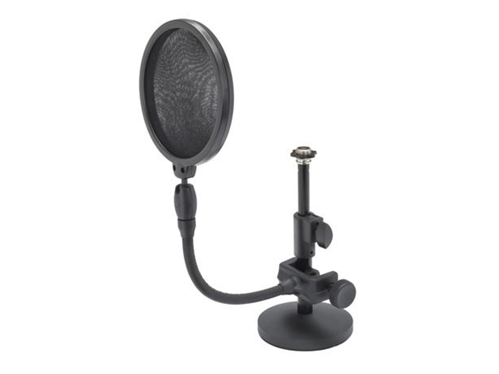 Samson MD2/PS05 Mic Stand and Pop Shield Bundle