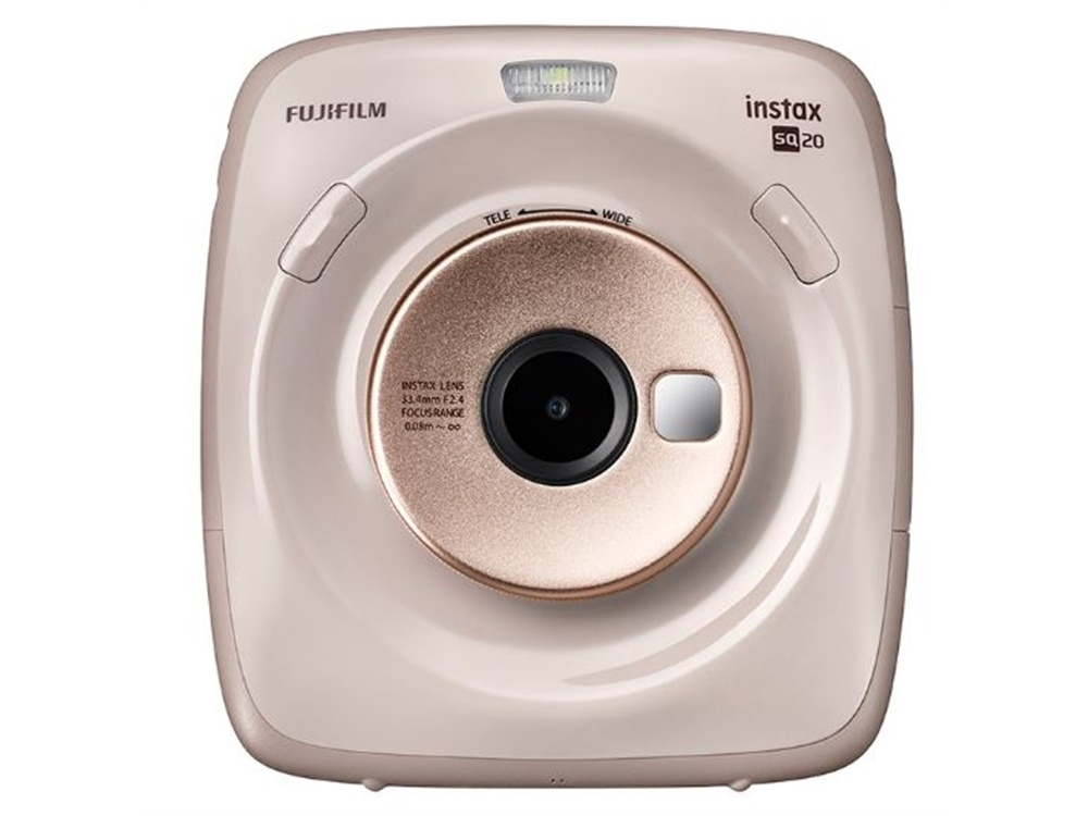 Fujifilm instax SQUARE SQ20 Hybrid Instant Camera & Printer (Beige)