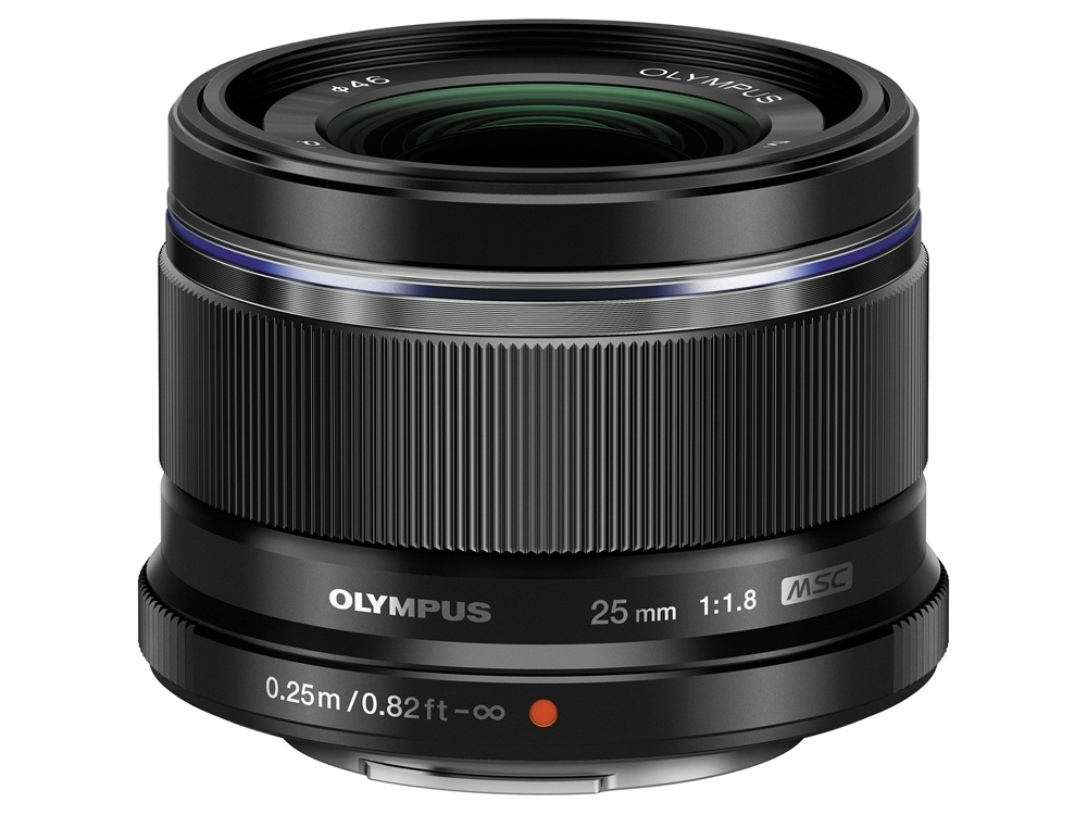 Olympus M.Zuiko 25mm f/1.8 Lens (Black)