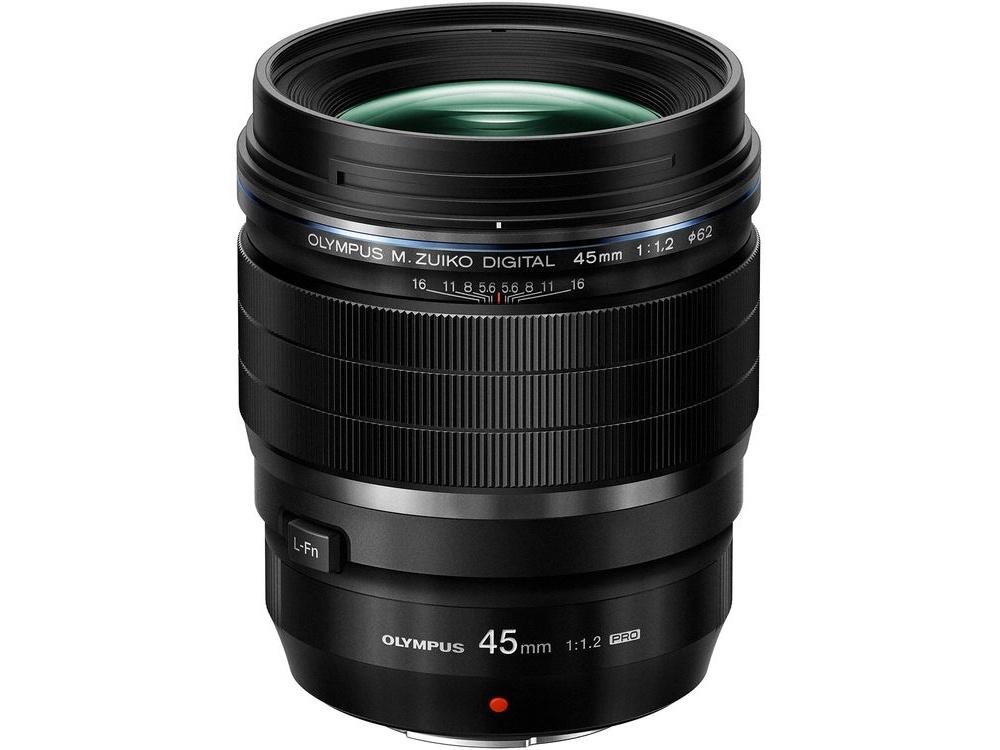 Olympus M.Zuiko 45mm f/1.2 PRO Lens (Black)