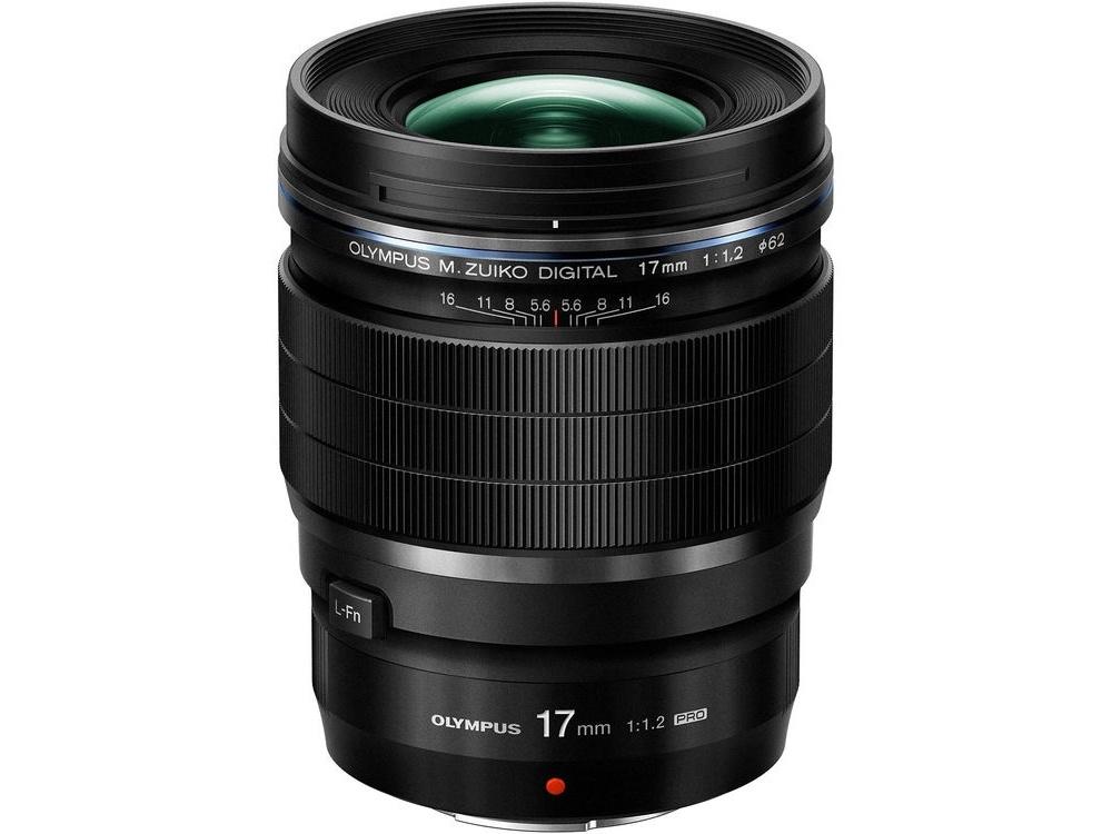 Olympus M.Zuiko 17mm f/1.2 PRO Lens (Black)