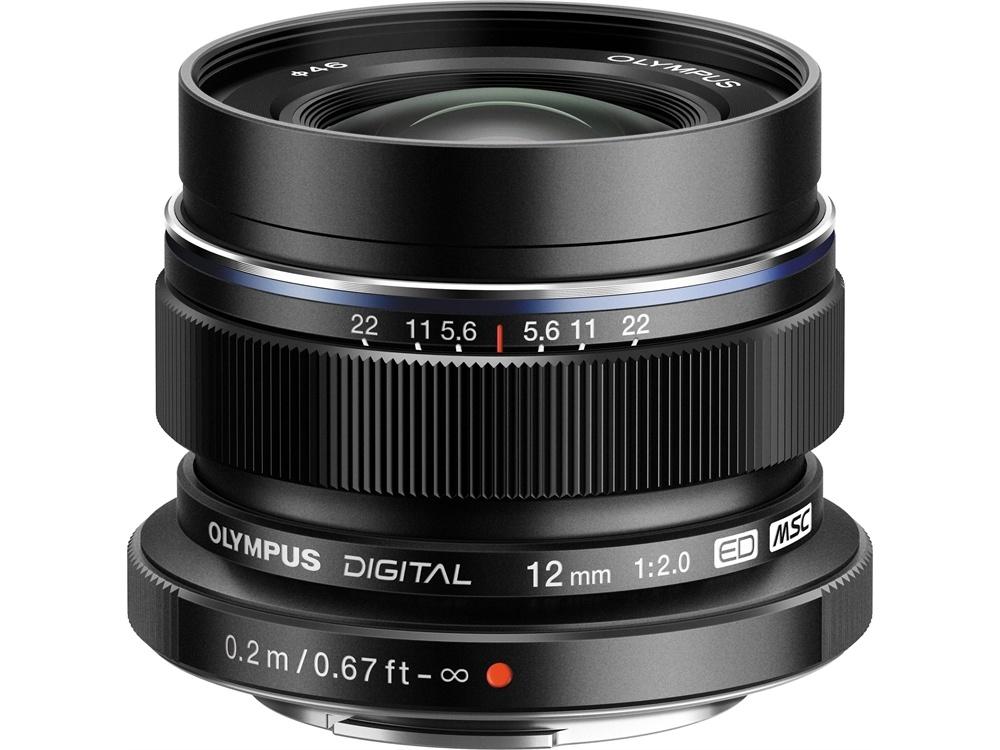 Olympus M. Zuiko 12mm f2.0 Wide Lens (Black)