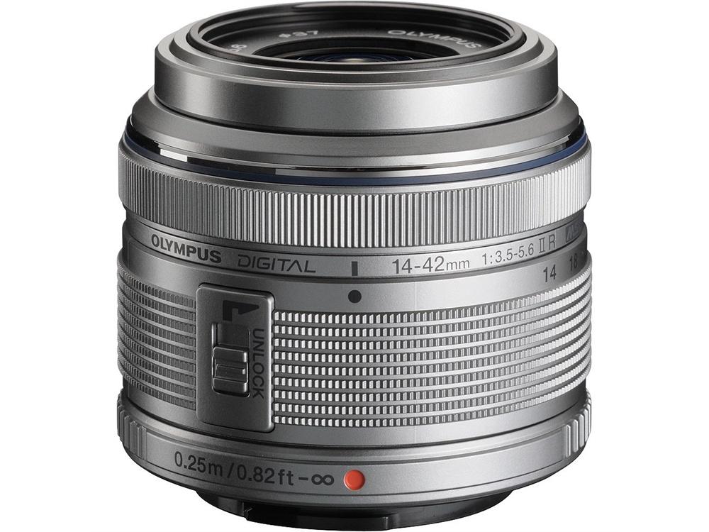 Olympus M.Zuiko 14-42mm f/3.5-5.6 Lens (Silver)