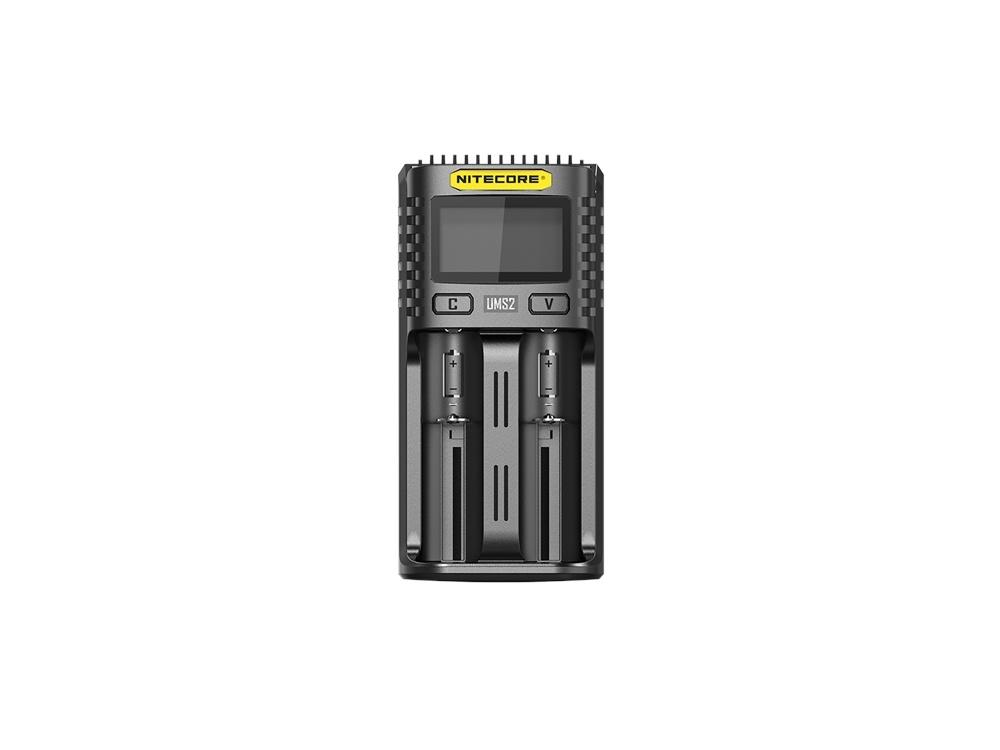 NITECORE UMS2 Intelligent USB Dual-Slot Superb Charger