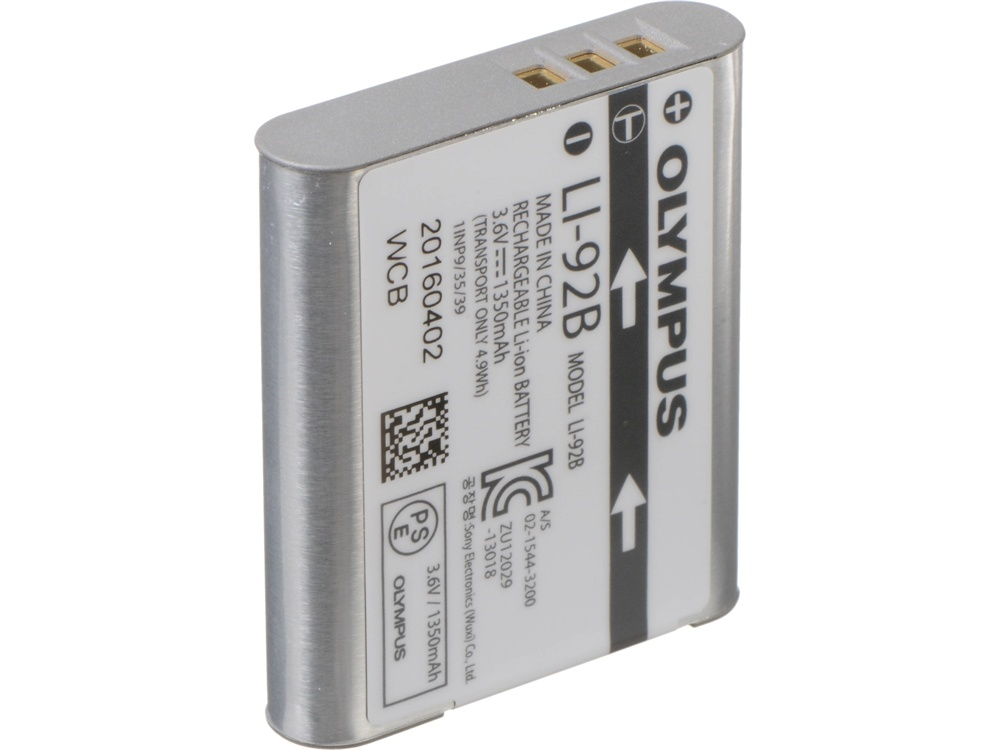 Olympus LI-92B Lithium-ion Battery (1350mAh)
