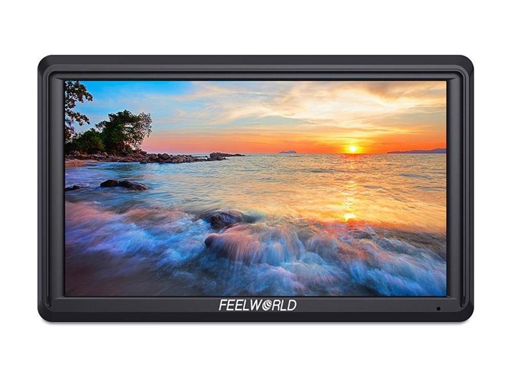 "Feelworld FW568 5.5"" 4K  Full HD On-camera Field Monitor"