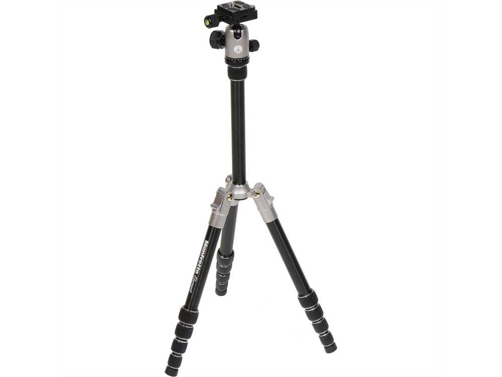 Manfrotto MKELES5GY-BH Small Element Traveler Tripod with Ball Head (Grey)