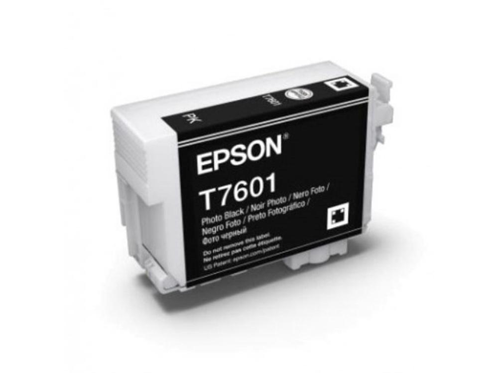 Epson T7601 UltraChrome HD Photo Black Ink Cartridge
