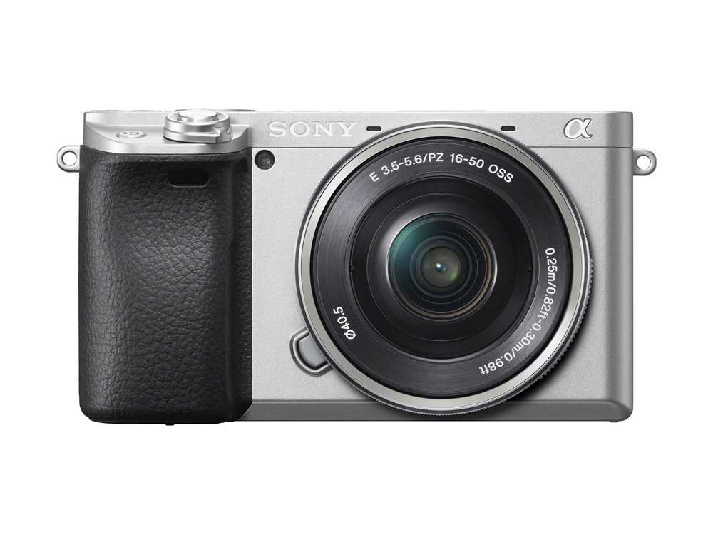 Sony Alpha a6400 Mirrorless Digital Camera with 16-50mm Lens (Silver)