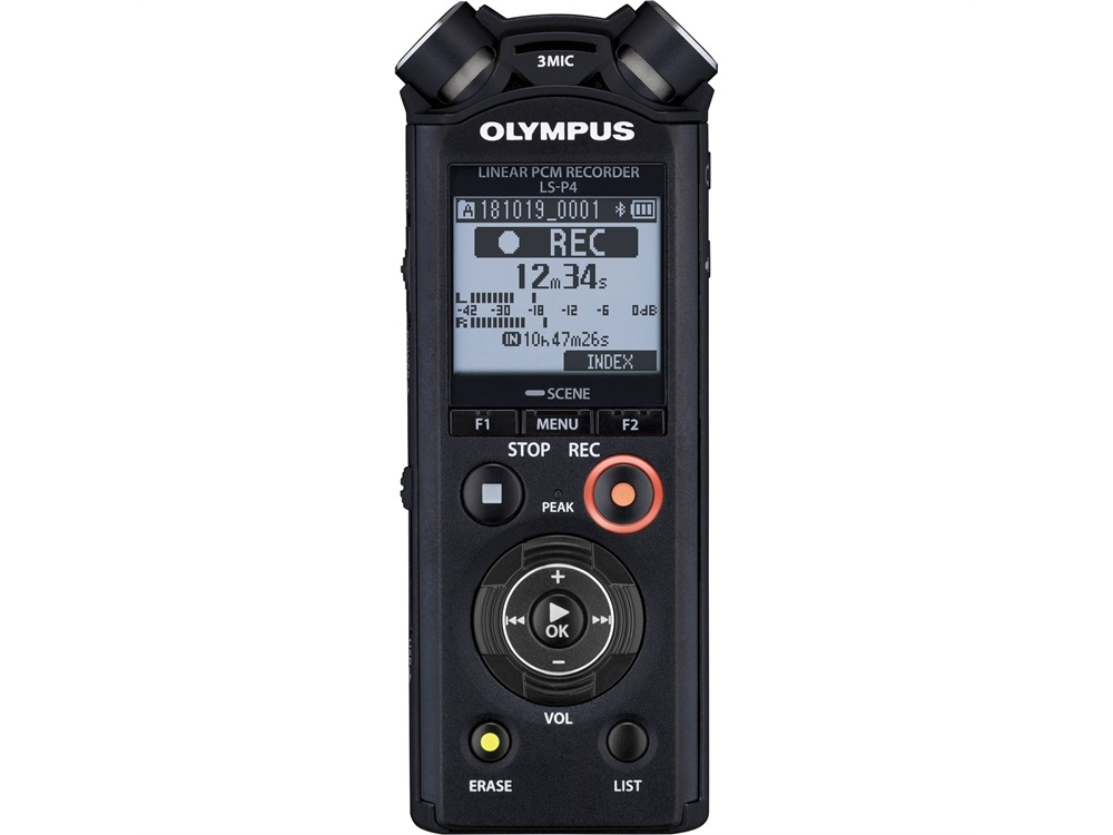 Olympus LS-P4 Audio Recorder