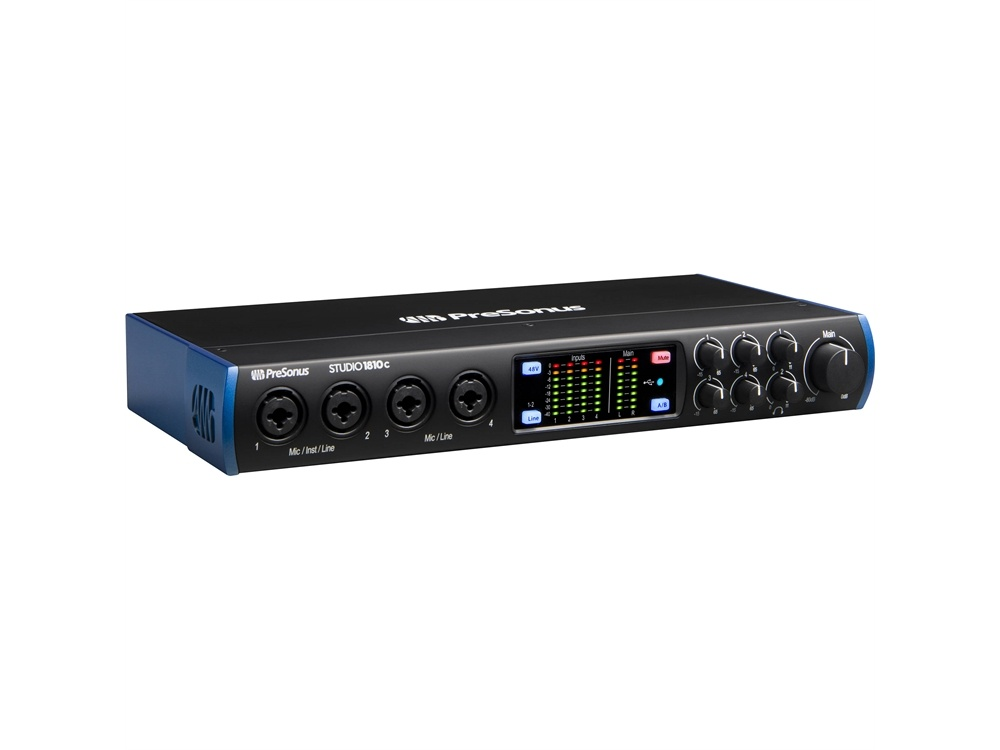 PreSonus Studio 1810c 18x8 USB Type-C Audio/MIDI Interface
