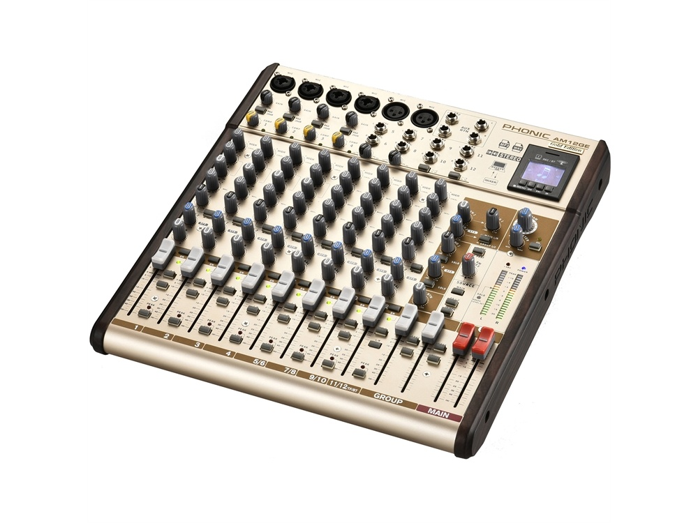 Phonic AM12GE AM Gold Edition Compact Mixer