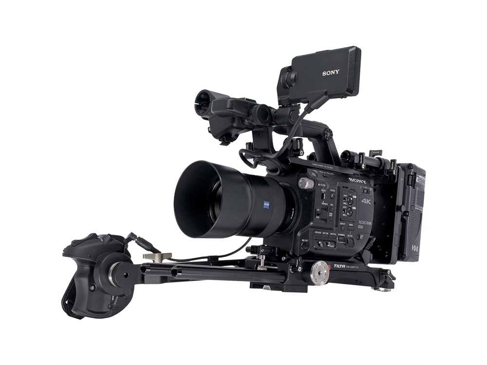 Tilta ES-T14 Camera Cage with Gold Mount Battery Plate for Sony PXW-FS5