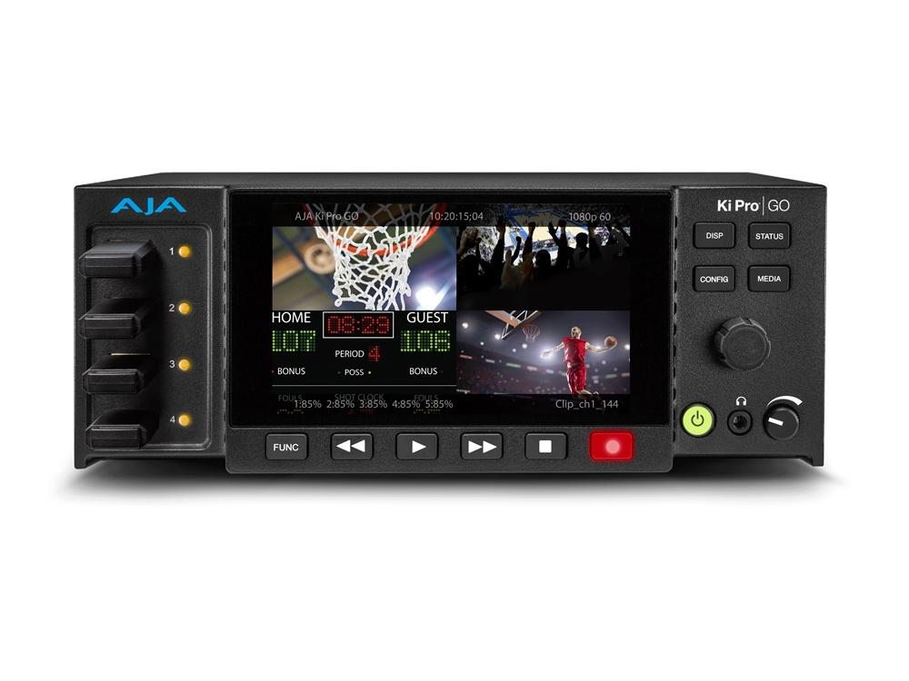 AJA Ki Pro GO Multi-Channel H.264 Recorder and Player