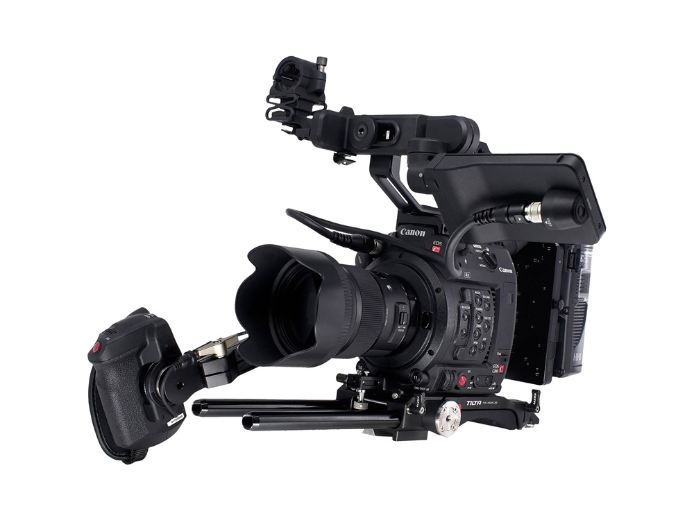 Tilta Camera Cage for Canon C200 with Gold Mount Battery Plate