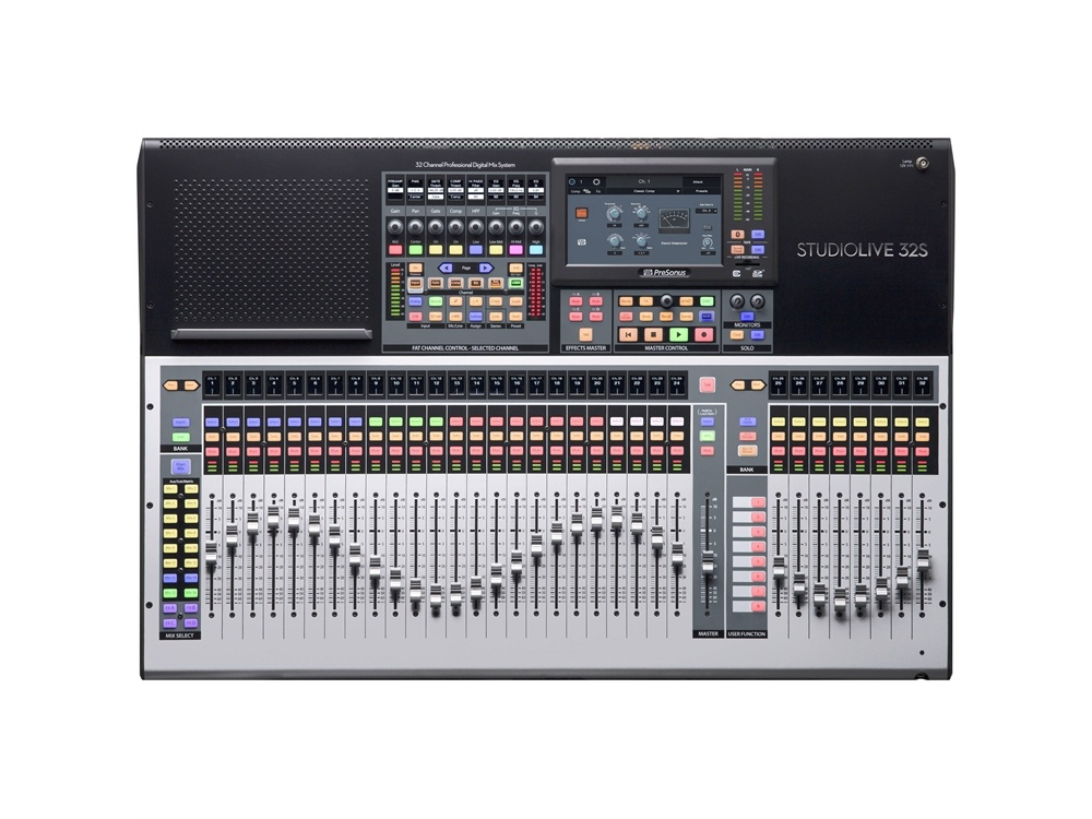 PreSonus StudioLive 32S Series III S 40-Channel Digital Mixer/Recorder/Interface