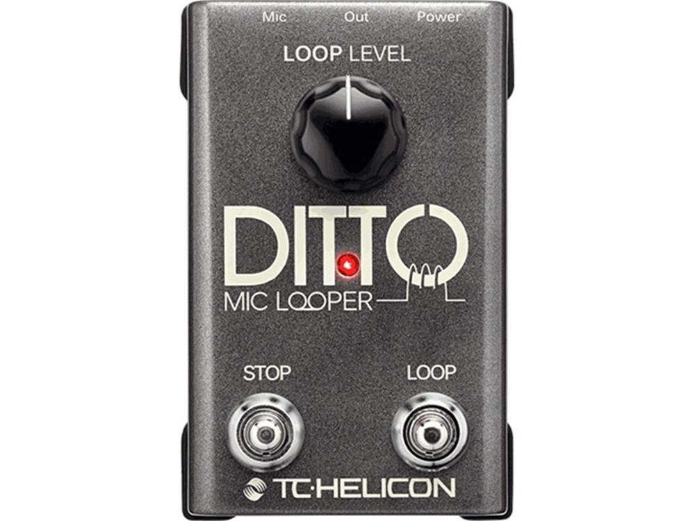 TC-Helicon Ditto Microphone Looper