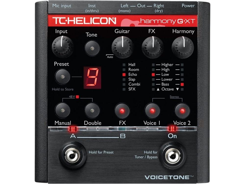 TC-Helicon VoiceTone Harmony-G XT Guitar & Vocal Harmony Pedal