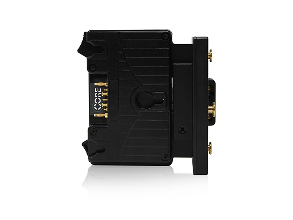 Core SWX Helix Gold Mount Sharkfin Battery Plate