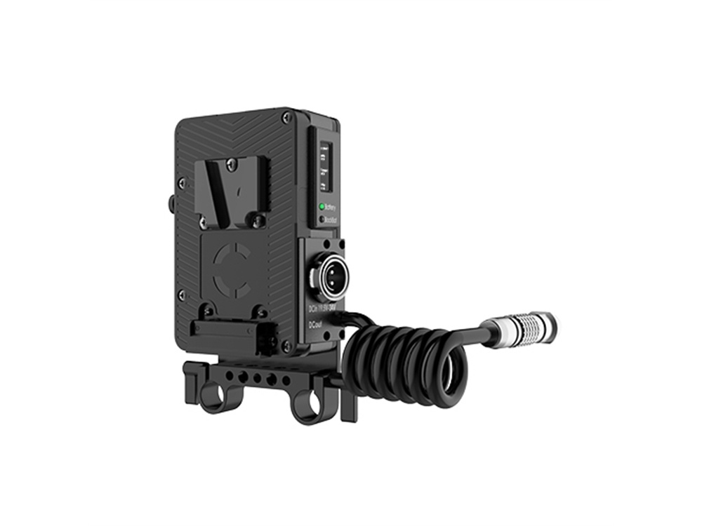 Core SWX Helix Rail Mount Power Management Control with V-Mount Front for ARRI