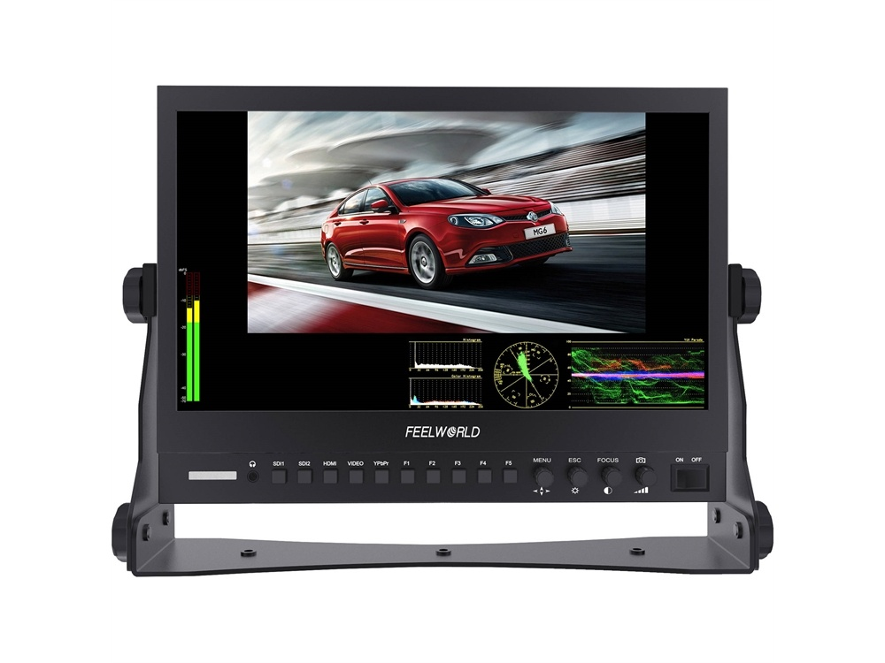 """FeelWorld P133-9DSW 13.3"""" Broadcast LCD Monitor"""