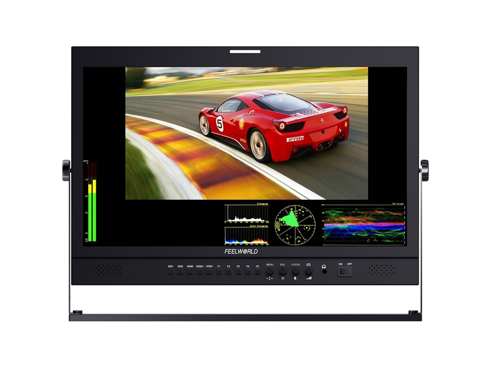 """FeelWorld P215-9DSW 21.5"""" Broadcast LCD Monitor"""
